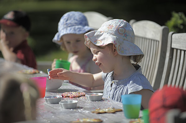 A baking dozen of toddlers