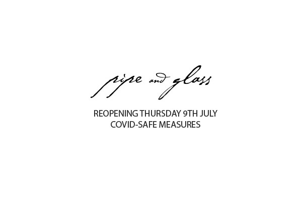 Reopening Thursday 9th July