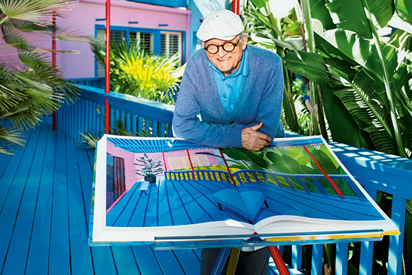 David Hockney's A Bigger Book Just up the road from the Pipe and Glass