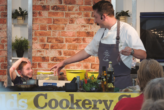 James' little helper