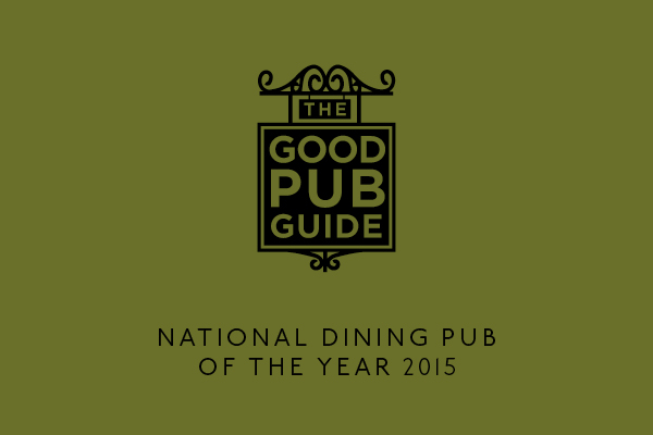 Voted The Good Pub Guide's National Dining Pub of the Year 2015