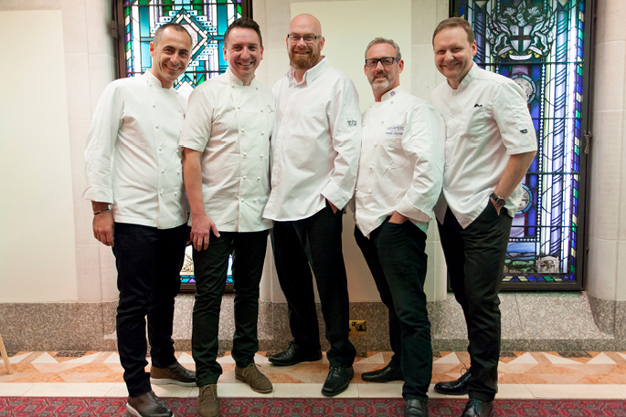 Great British Chefs NSPCC Dinner 2016
