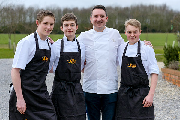 Three young Yorkshire chefs named as finalists in the Golden Apron 2017